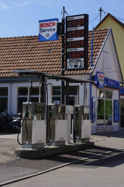 Freie Tankstelle